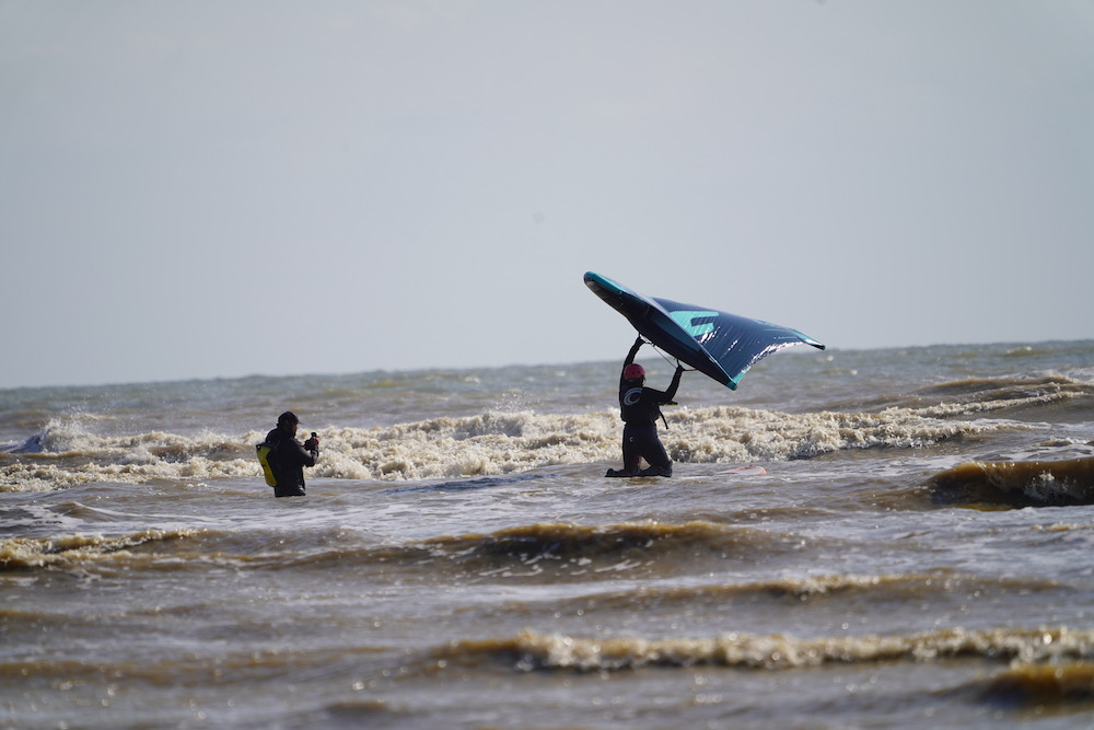 Staycation special! Our intrepid correspondent tries Wing Foiling.