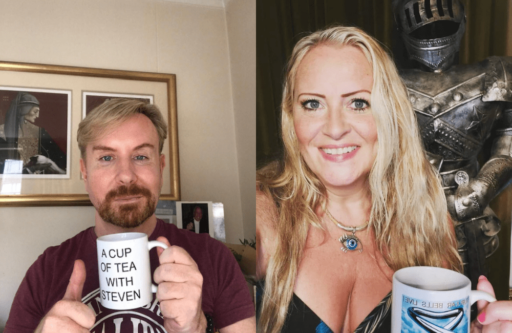 A Cup of Tea with Steven and TV legend Nicole Faraday.