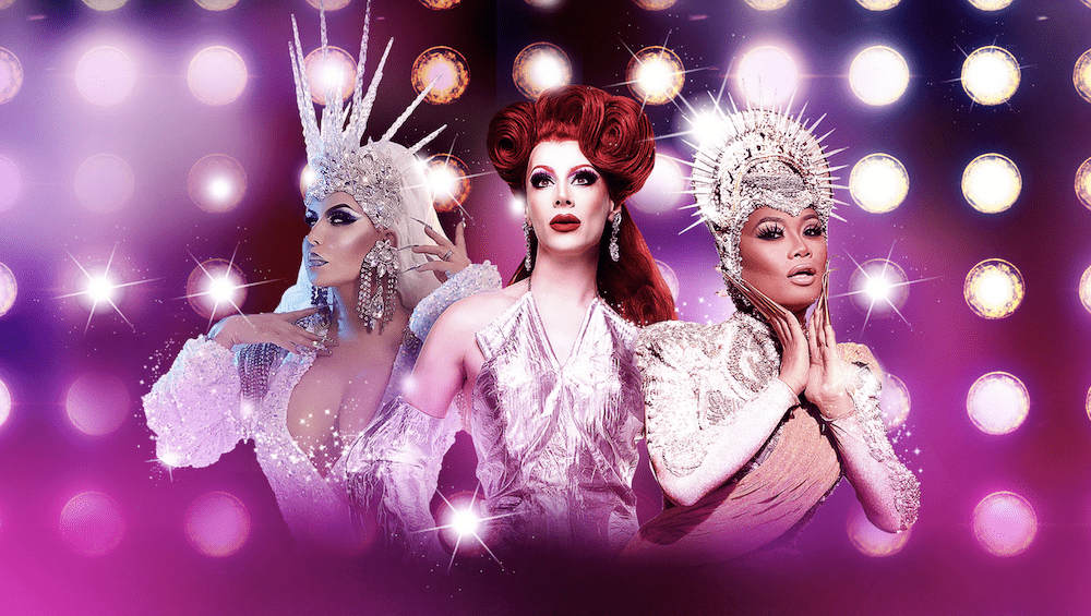 UK & U.S.  drag royalty to star to tour 17-date theatrical extravaganza.