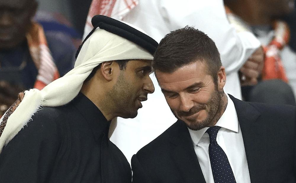 "Tatchell urges Beckham to ""think again"" over megabucks Qatar deal."