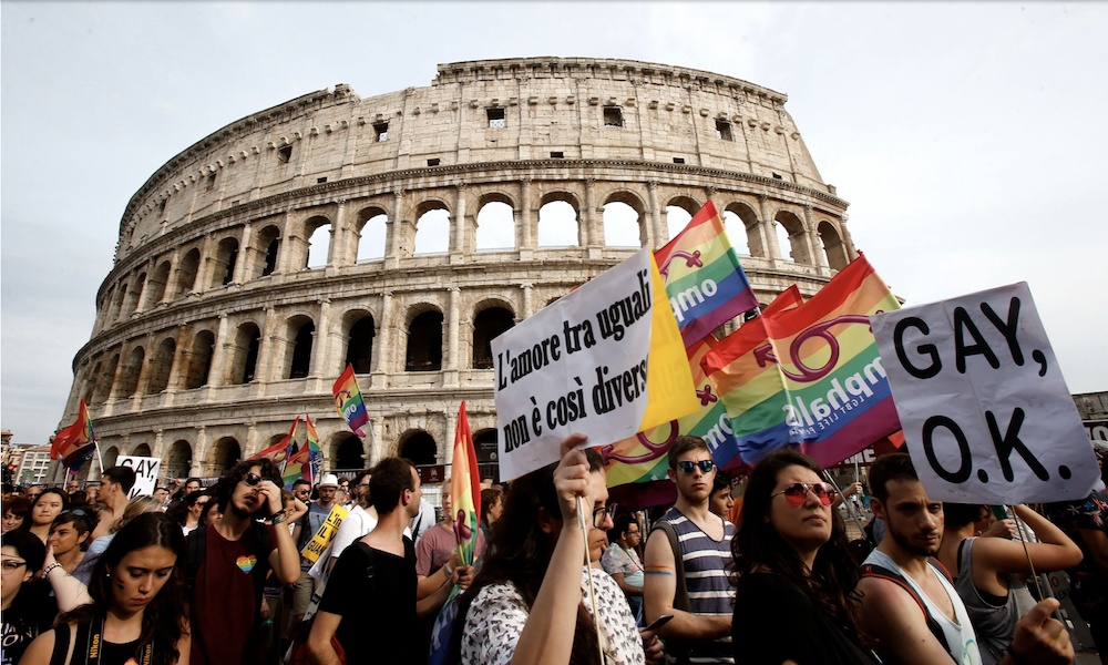 Unholy alliance of Vatican and far right defeats Italian hate crime bill.